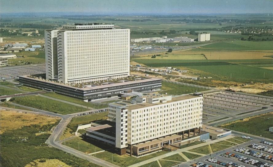 CHU de Caen en 1975
