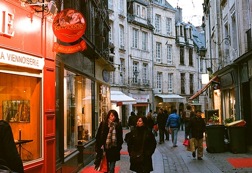 Centre ville Caen rue Froide