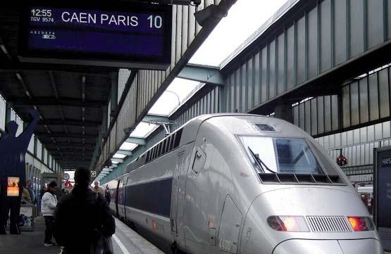 TGV Caen Paris