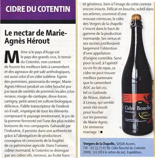 Le nectar de Marie-Agnès Hérout