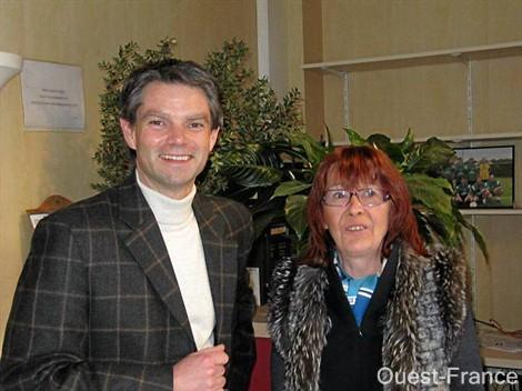 Marie-Odile Marie et Rodolphe Thomas à Villers-Bocage