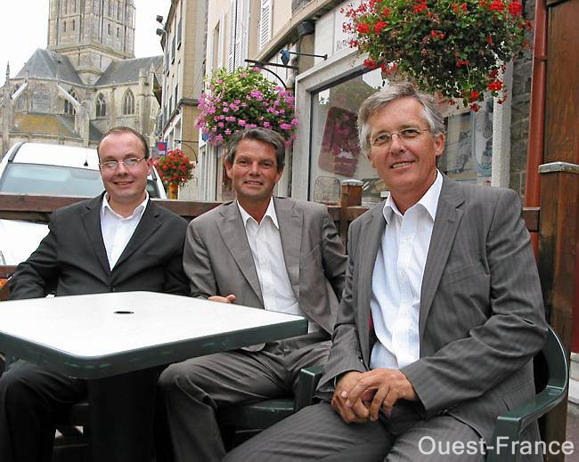 Rodolphe Thomas, Etienne Savary et Philippe Lailler