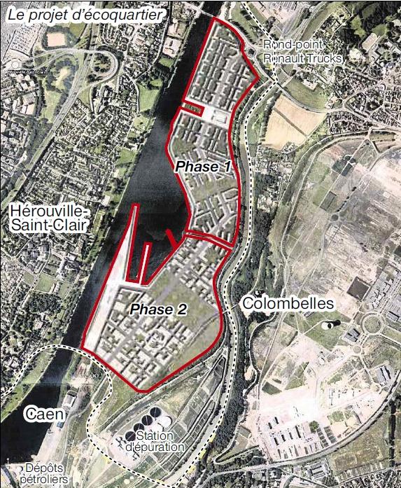 Projet d'écoquartier Caen Hérouville
