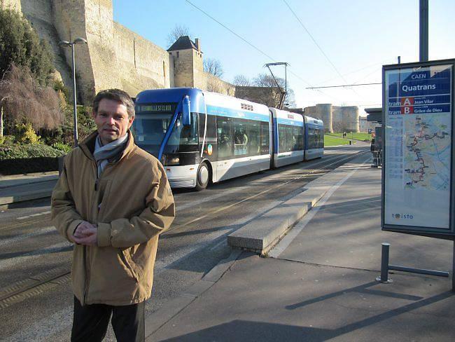 Rodolphe Thomas Tramway à Caen