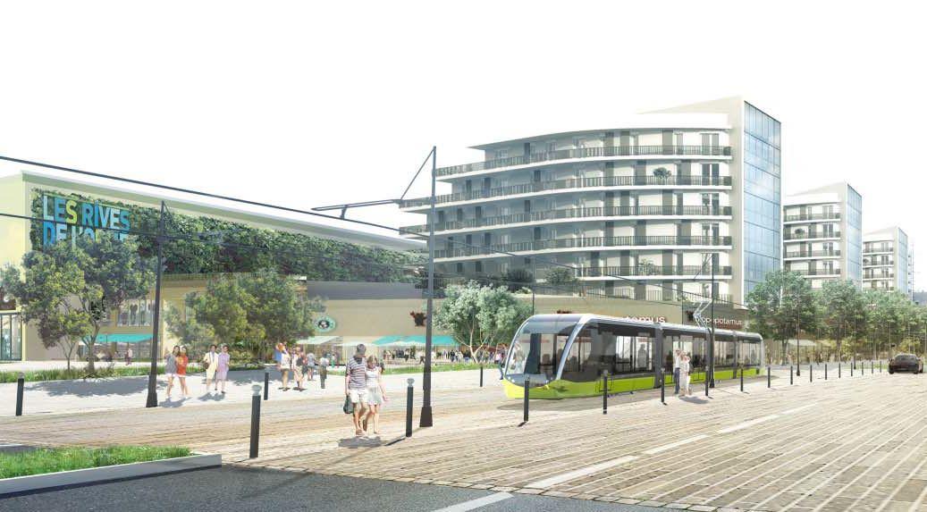 Nouveau tramway 2019 Rives de l'Orne Caen
