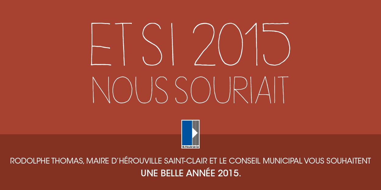 Voeux 2015 Hérouville Saint-Clair